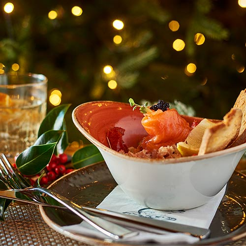 The Fishpool Inn Christmas Dining